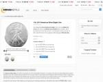 Amagi Metals American Silver Eagle Coin cart page