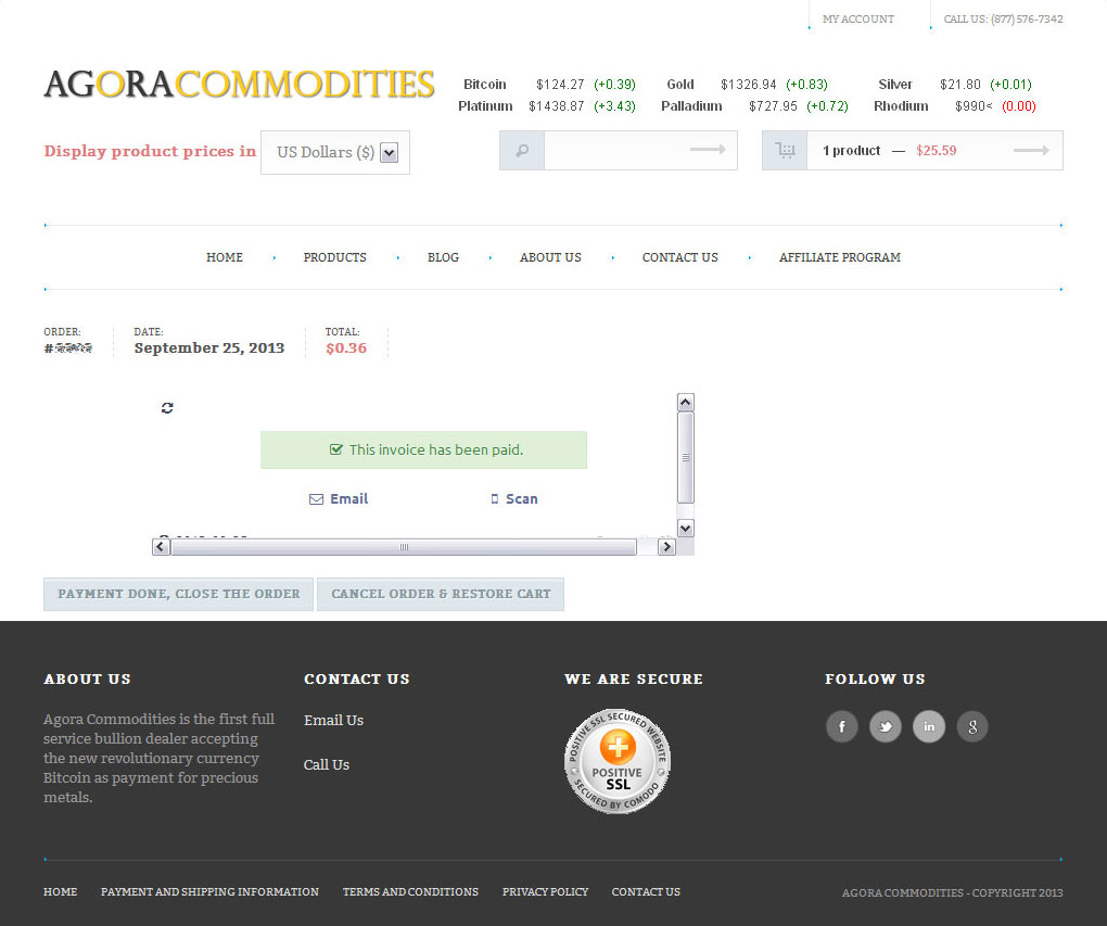 Ups Invoice Word Agora Commodities Review From An Actual Purchase   Buy  Cost To Process An Invoice Word with Tax Invoice Generator Pdf This Invoice Has Been Paid Small Business Receipts Pdf