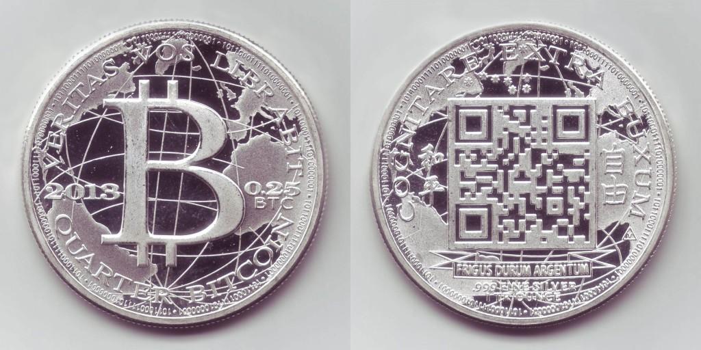 Bitcoin Silver Specie coin